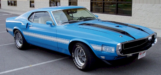 Grabber Blue 1970 Ford Mustang