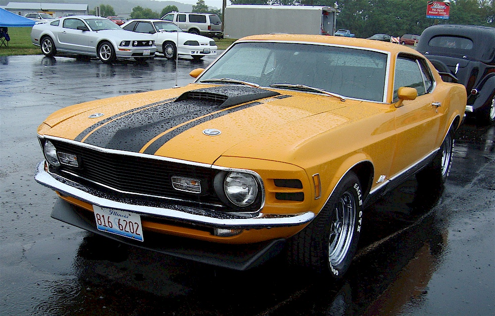 Grabber Orange 1970 Ford Mustang