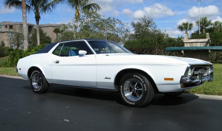 Pastel Blue 1971 Ford Mustang