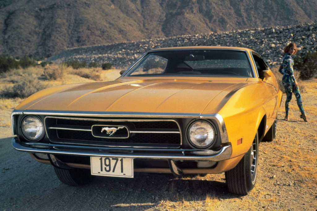 Medium Bright Yellow 1971 Mustang Paint Cross Reference