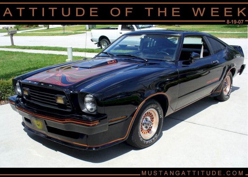 Black 1978 Ford Mustang