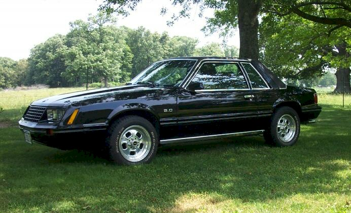 Black 1979 Ford Mustang