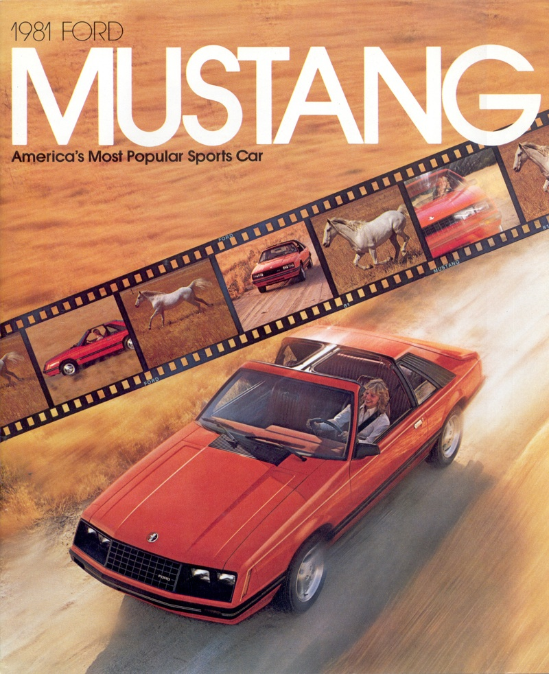 ford 1981 mustang sales brochure Ford Mustang Posters 2012 Ford Mustang