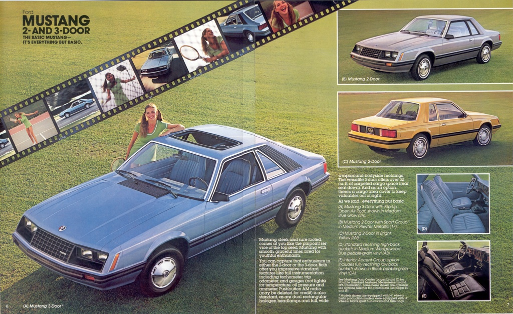ford 1981 mustang sales brochure 2015 Ford Mustang 2015 Ford Mustang