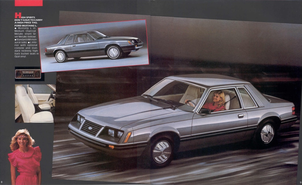 ford 1983 mustang sales brochure 2011 Ford Mustang 2012 Ford Mustang