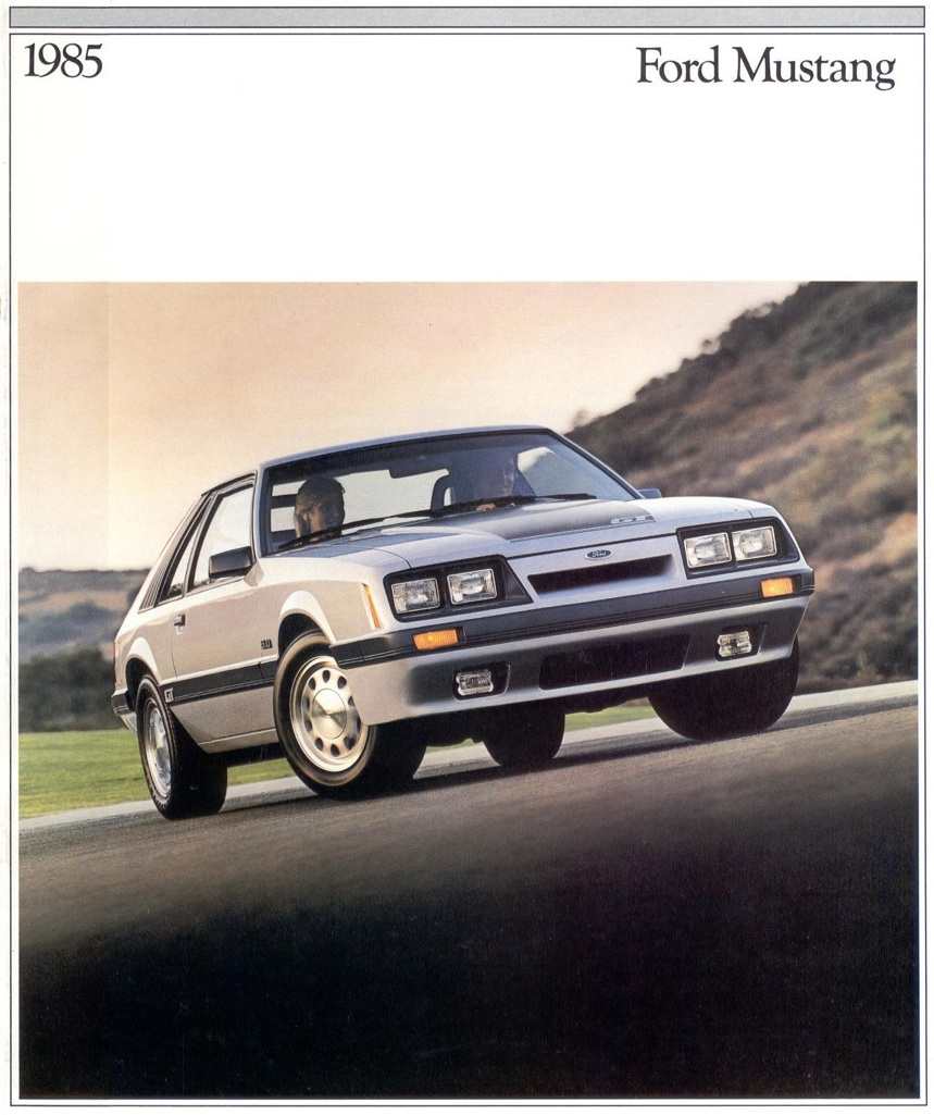 Ford 1985 Mustang Sales Brochure 1964 Brochures Are Presented For Research Use Only Company Marks Emblems And Designs Trademarks Or Service Of