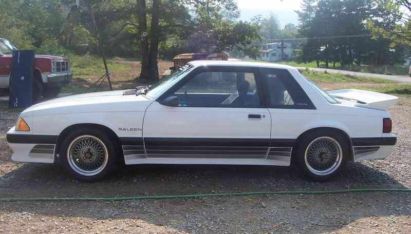1988 Ford Mustang Paint Colors