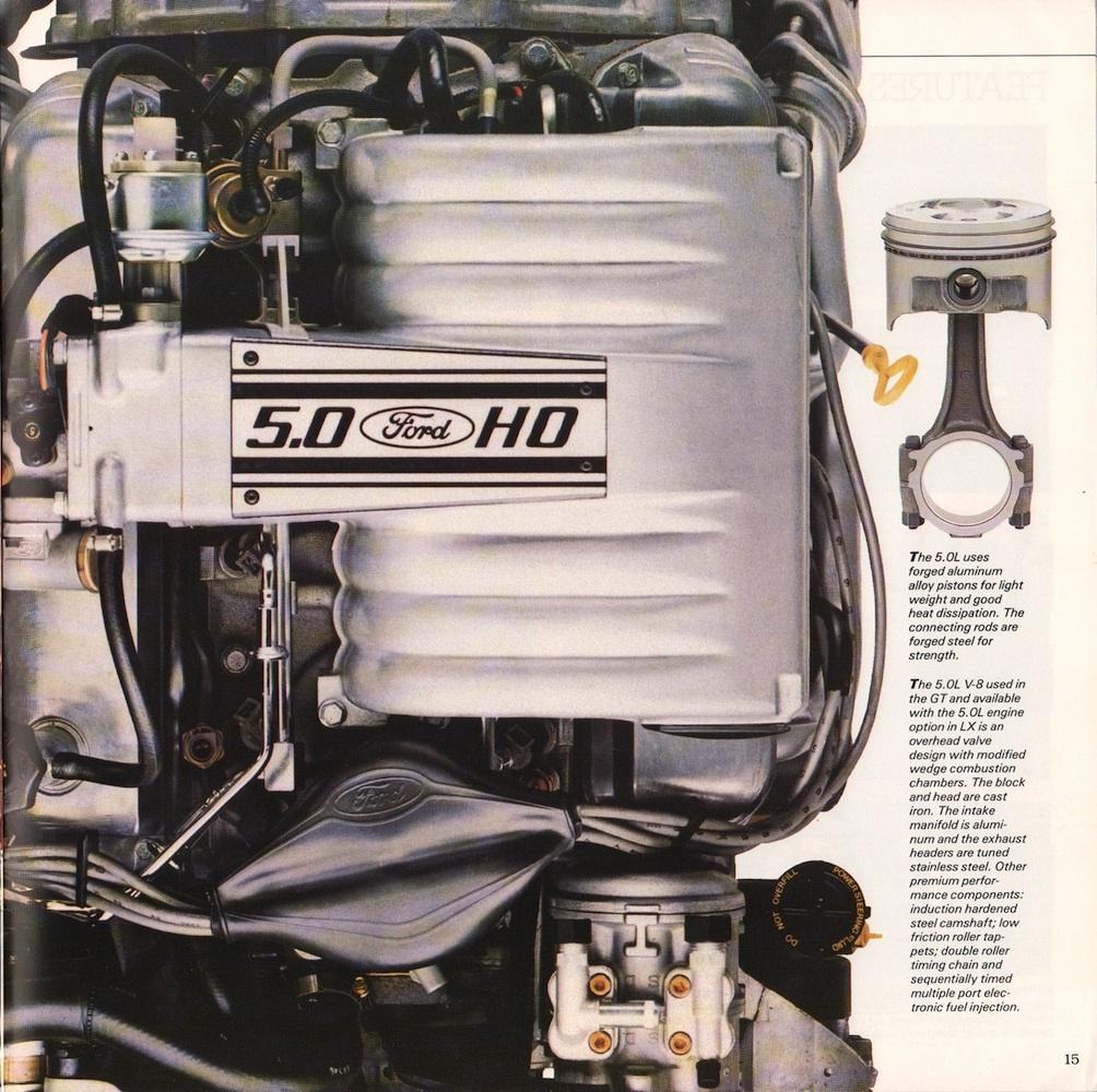 Ford 1988 Mustang Sales Brochure