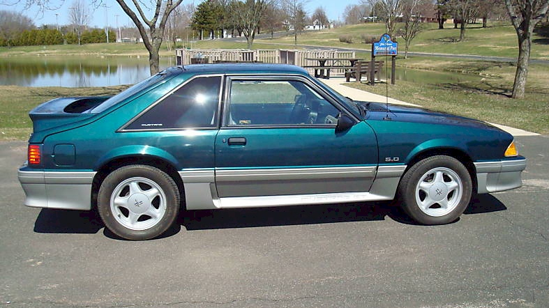 Deep Emerald 1991 Ford Mustang