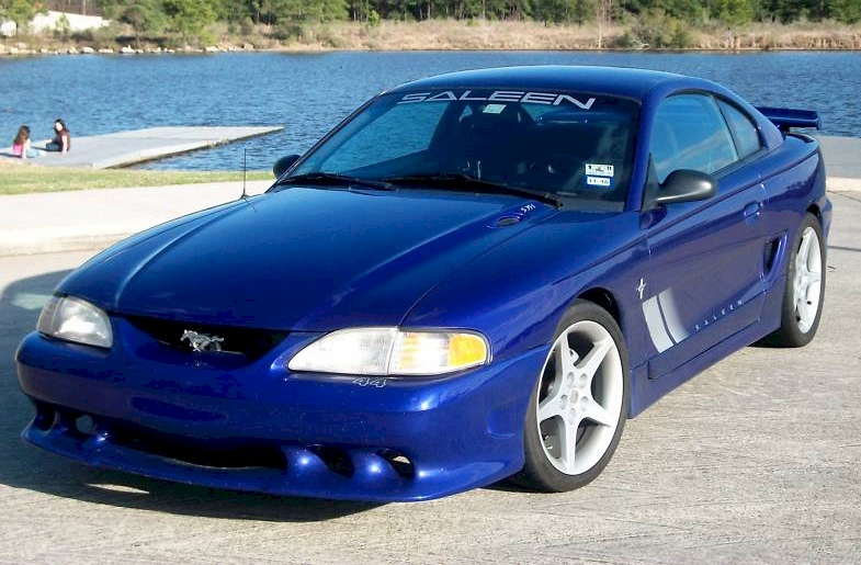 Sapphire Blue 1995 Ford Mustang