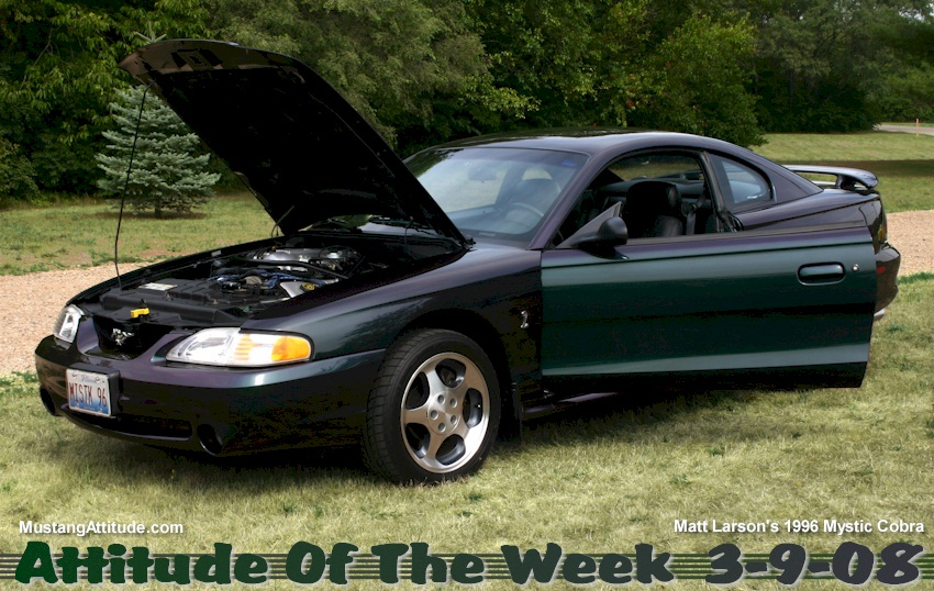 Mystic 1996 Ford Mustang