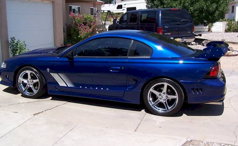 Moonlight Blue 1997 Ford Mustang