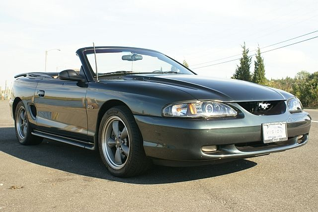 Pacific Green 1998 Ford Mustang