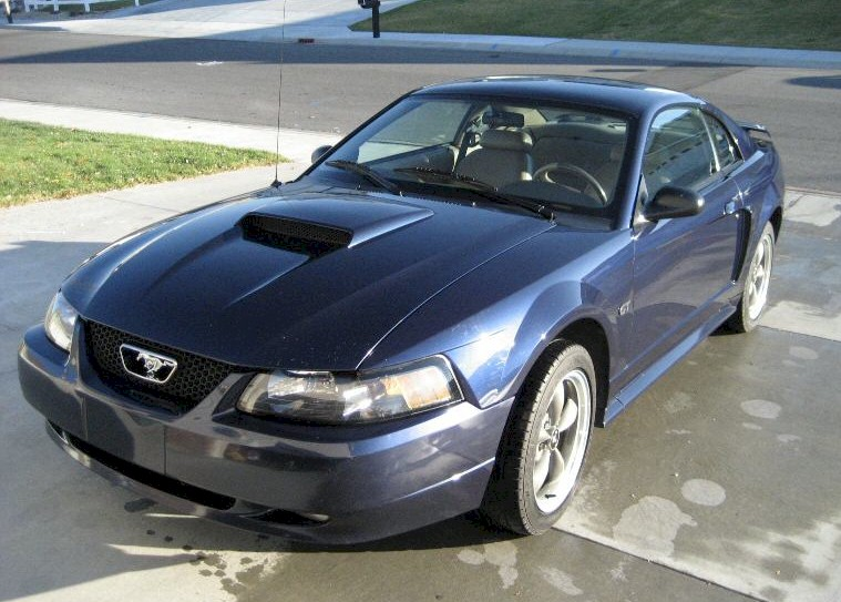 True Blue 2002 Ford Mustang