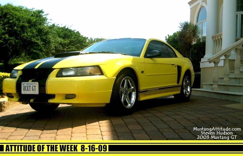 Zinc Yellow 2003 Ford Mustang