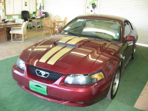 Crimson Red 2004 Ford Mustang