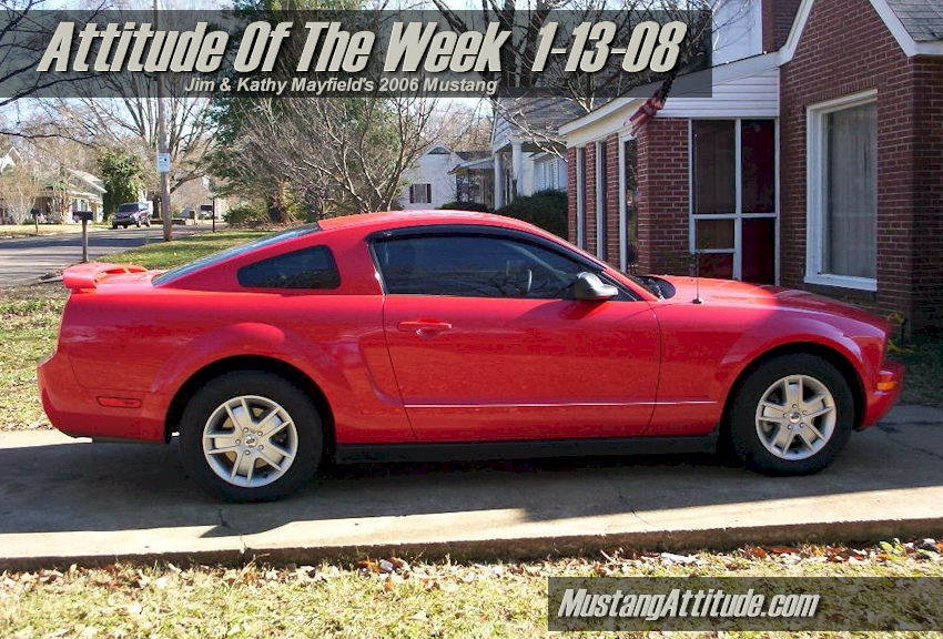 Torch Red 2006 Ford Mustang