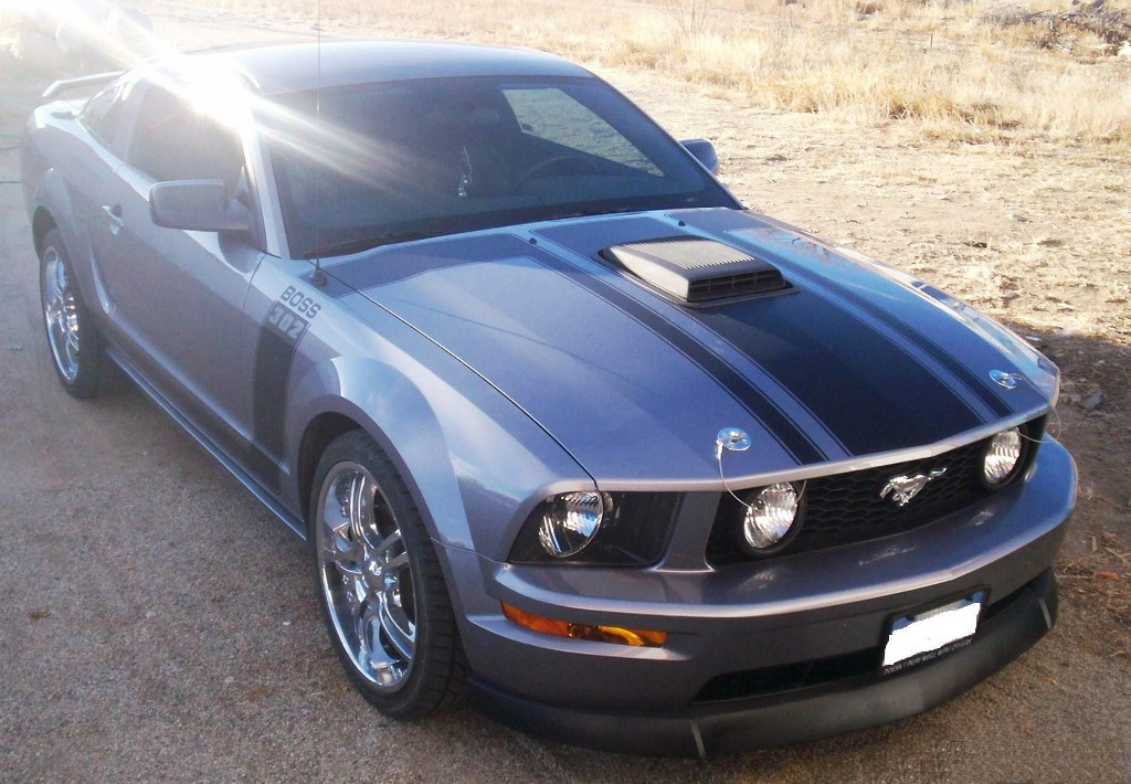 Tungsten Gray 2006 Ford Mustang