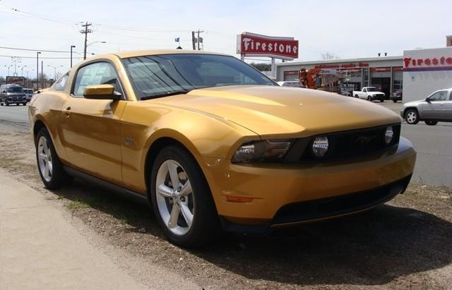 Sunset Gold 2010 Mustang Paint Cross Reference