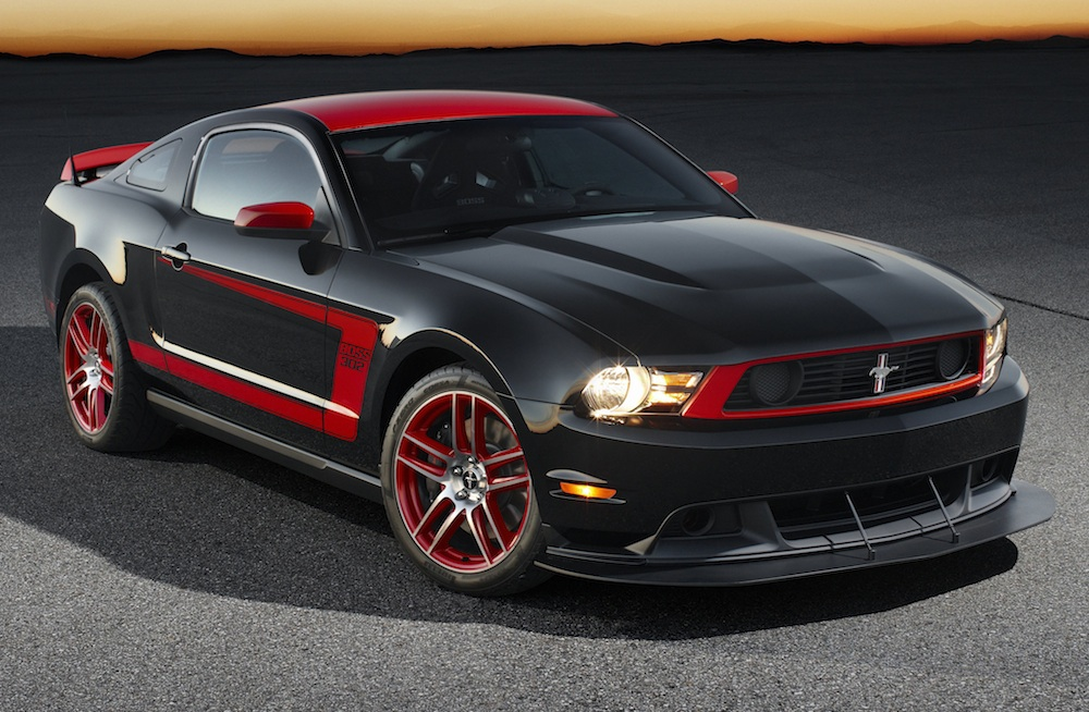 Black 2012 Ford Mustang