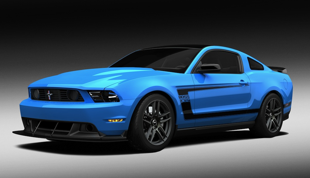 Grabber Blue 2012 Ford Mustang