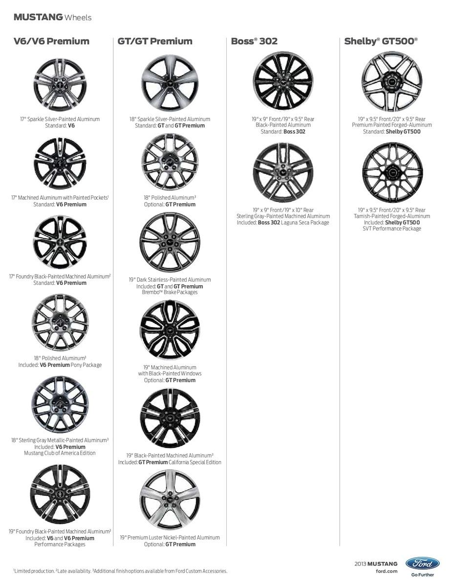 ford 2013 mustang sales brochure