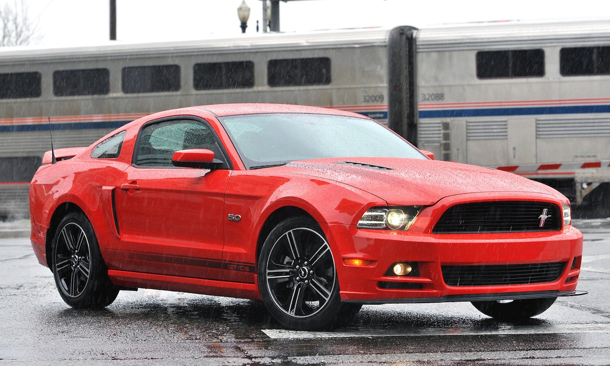 Race Red 2013 Ford Mustang